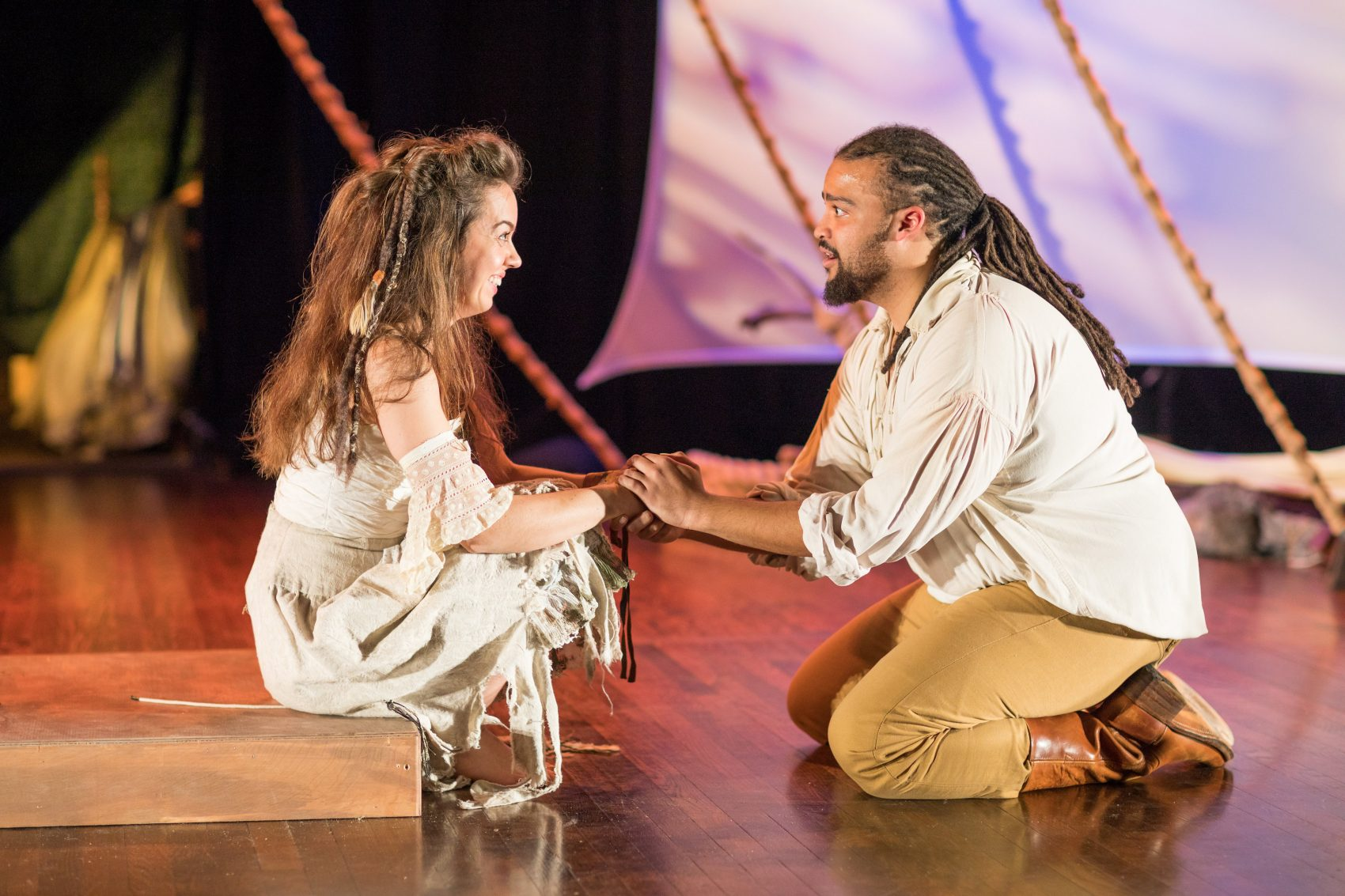 the tempest miranda and ferdinand meet press