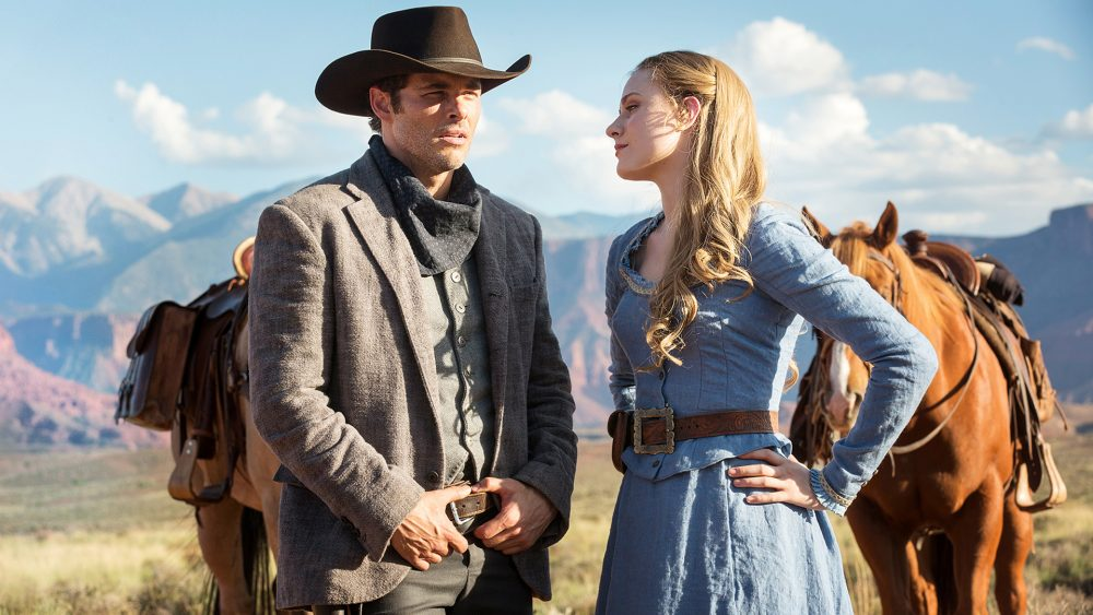 "A still frame from the HBO series ""Westworld."" (Courtesy HBO)"