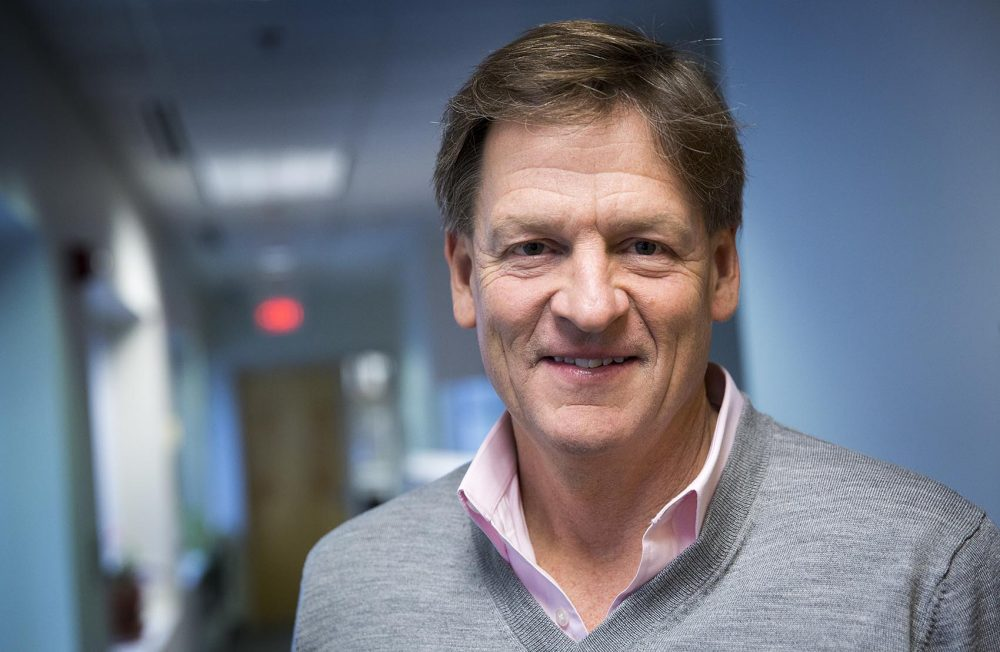 "Michael Lewis is the best-selling author of ""The Blind Side,"" ""Moneyball,"" and ""The Big Short."" His new book is ""The Undoing Project: A Friendship That Changed Our Minds."" (Robin Lubbock/WBUR)"