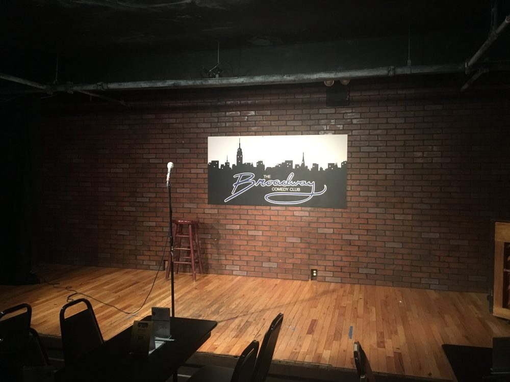 Only A Game and the Broadway Comedy Club came up with a plan: a night of stand-up comedy, with only sports jokes. (Martin Kessler/Only A Game)