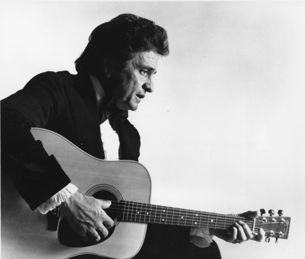 Musician Johnny Cash in 1977. (AP)