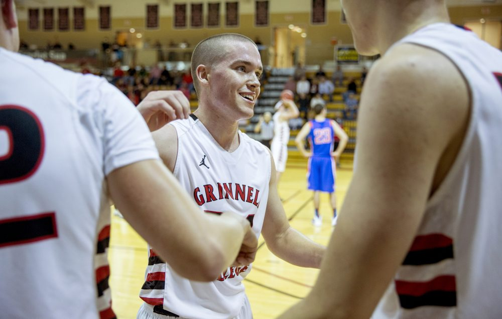 After a knee injury shattered Jack Taylor's dreams of playing Division I basketball, he joined the team at Grinnell College -- and set the NCAA single-game scoring record. (Justin Hayworth/AP)