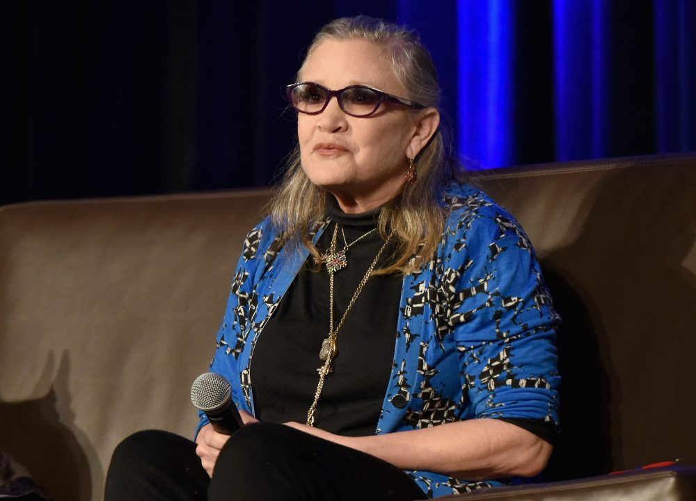 Actress Carrie Fisher speaks onstage during Wizard World Comic Con Chicago 2016 -- Day 4 at Donald E. Stephens Convention Center on Aug. 21, 2016 in Rosemont, Ill. (Daniel Boczarski/Getty Images for Wizard World)