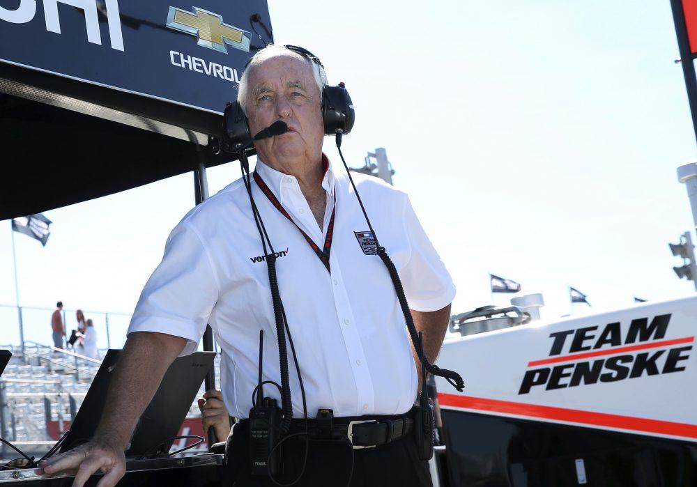 Roger Penske during a practice for an IndyCar race on Sept. 3, 2016, in Watkins Glen, N.Y. (Mel Evans/AP)