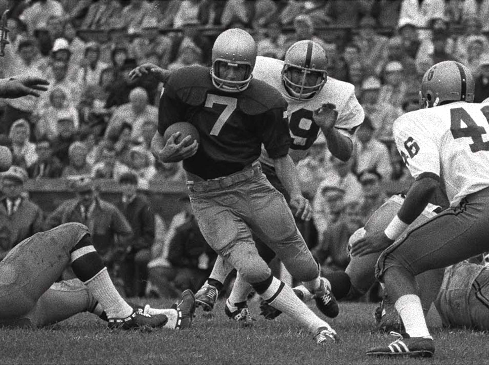 Theismann, As In Heisman   Or Was It? | Only A Game