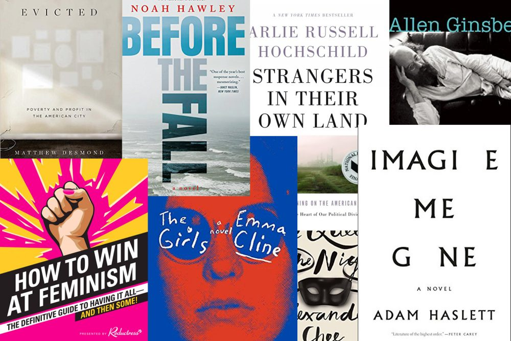 A collection of the covers of some of the On Point staff's favorite books of 2016. (Courtesy the Publishers)