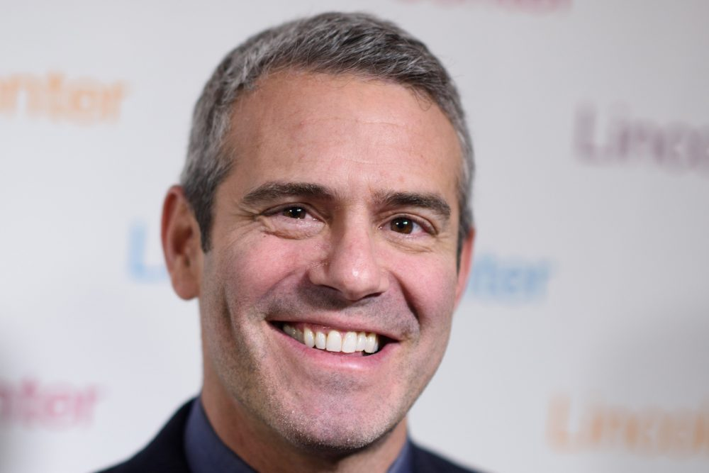 Andy Cohen arrives at Lincoln Center's American Songbook Gala Honors Lorne Michaels at Lincoln Center for the Performing Arts on Feb. 11, 2016 in New York. (Dave Kotinsky/Getty Images)