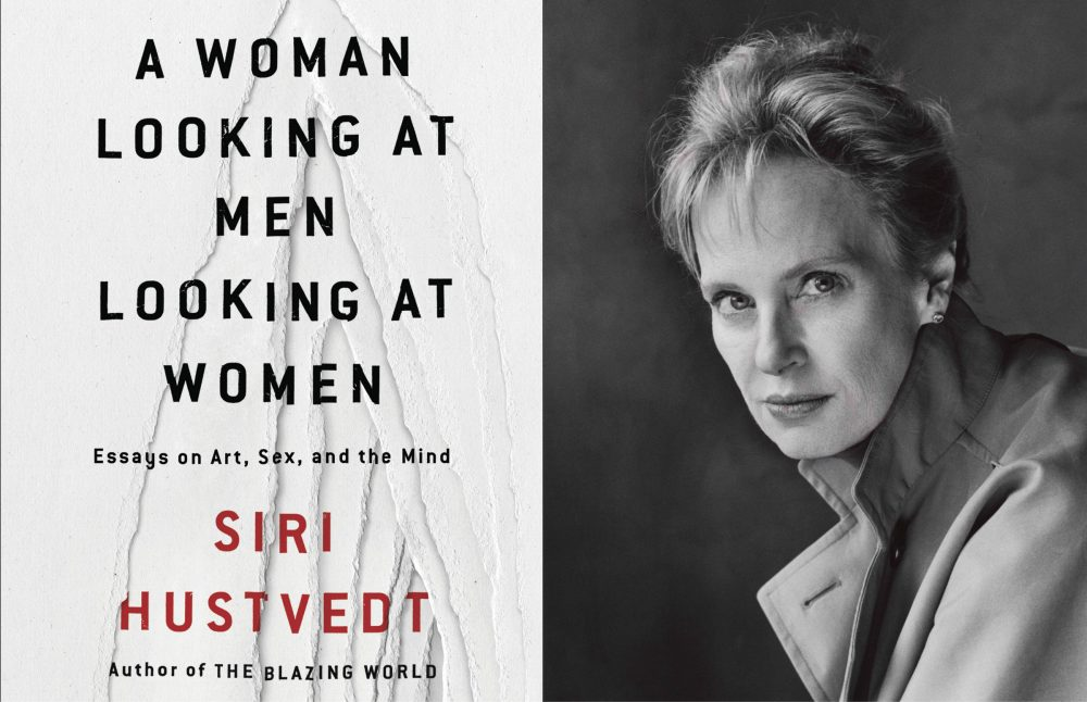 "Siri Hustvedt latest book, ""A Woman Looking at Men Looking at Women,"" is a collection of essays on feminism in the arts and the mind/body connection. (Courtesy Simon & Schuster)"