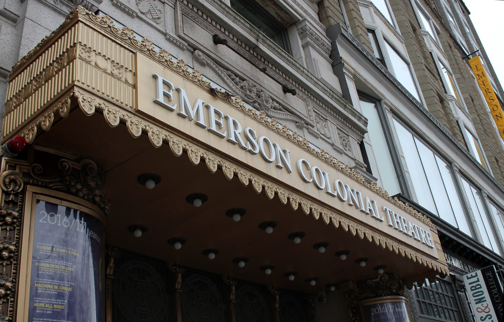 The 1,700 seat Colonial Theatre, owned by Emerson College, shut its doors in 2015. (Amy Gorel/WBUR)