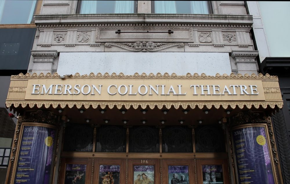 The Colonial Theatre, owned by Emerson College, shut its doors in 2015. (Amy Gorel/WBUR)