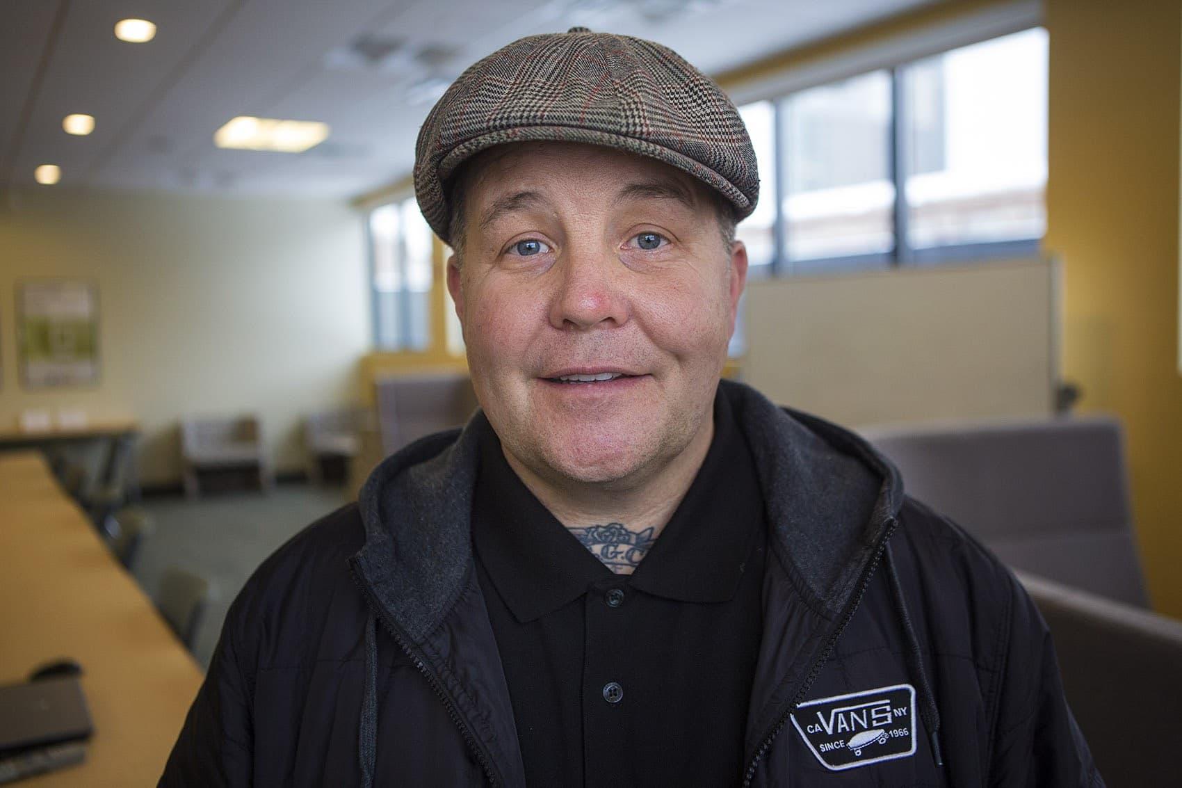 Ken Casey of the Dropkick Murphys. (Jesse Costa/WBUR)