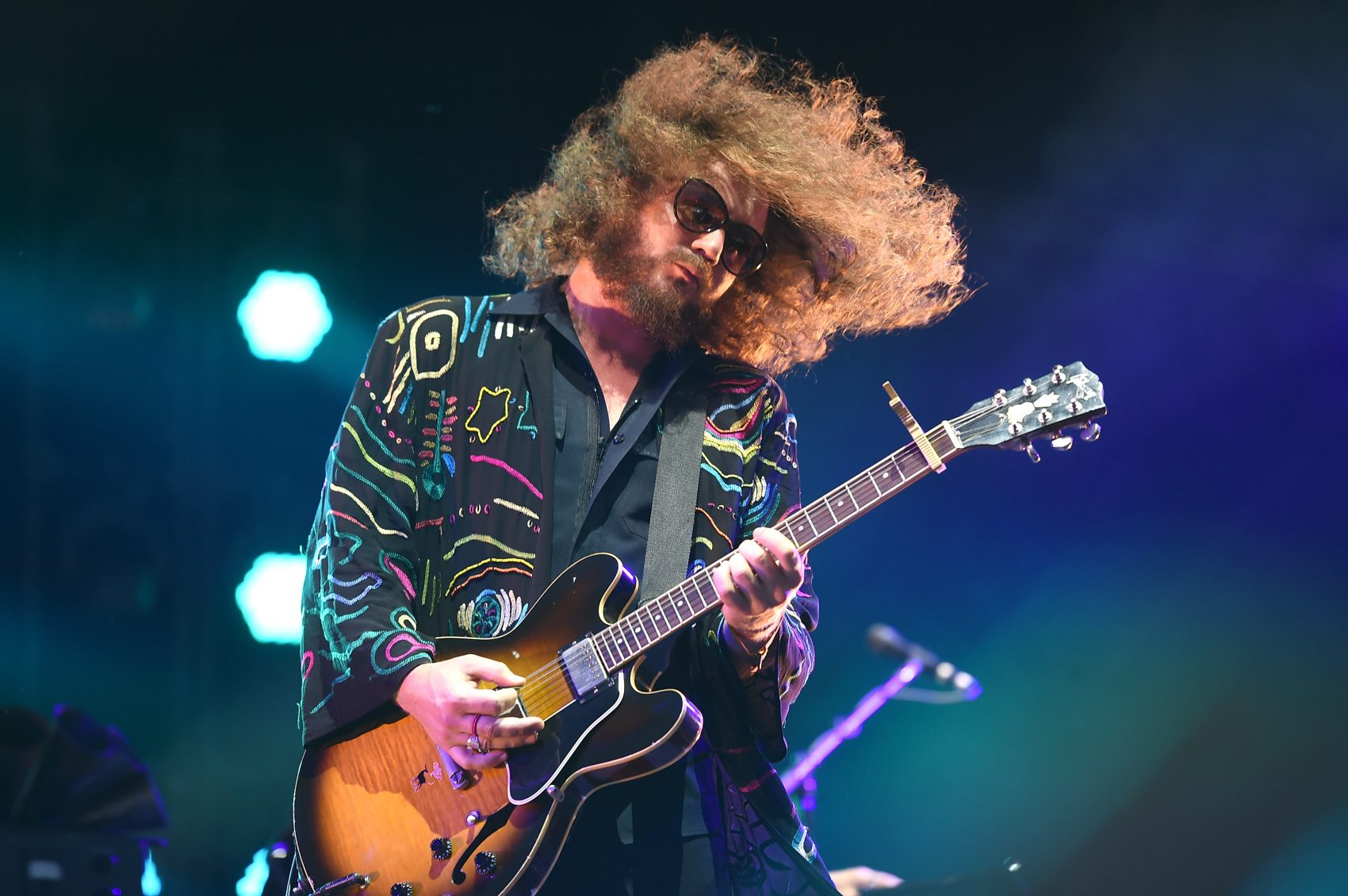 Musician Jim James performs during the 2015 Bonnaroo Music & Arts Festival in June 2015 in Manchester, Tenn. (Jason Merritt/Getty Images)