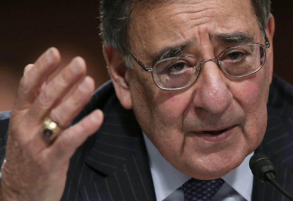 U.S. Defense Secretary Leon Panetta testifies before the Senate Armed Services Committee in Washington, D.C., in 2013. (Win McNamee/Getty Images)