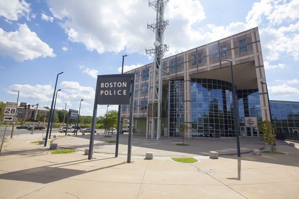 Boston Police Headquarters. (Joe Difazio for WBUR)