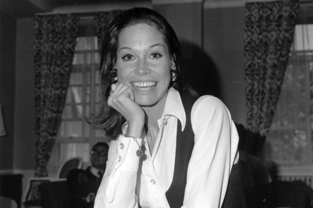 Actress Mary Tyler Moore. (E Milsom/Getty Images)