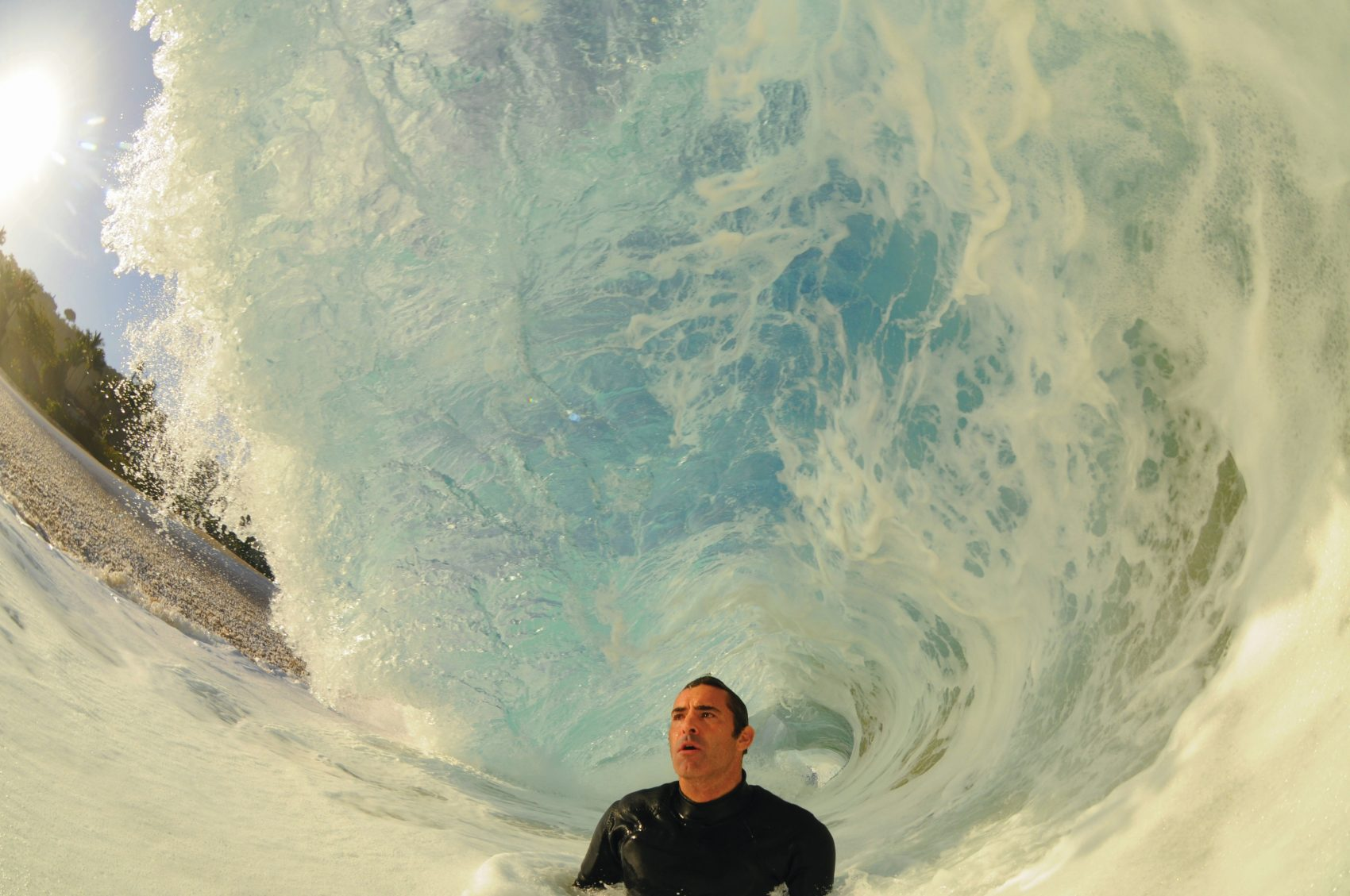 Garrett McNamara made a career riding big waves. (Clark Little)