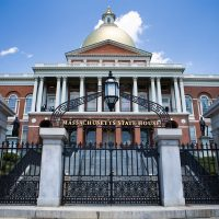 The Massachusetts State House. (Jesse Costa/WBUR)