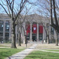 The Langdell Library at Harvard Law School. (Richard Howe/Flickr)