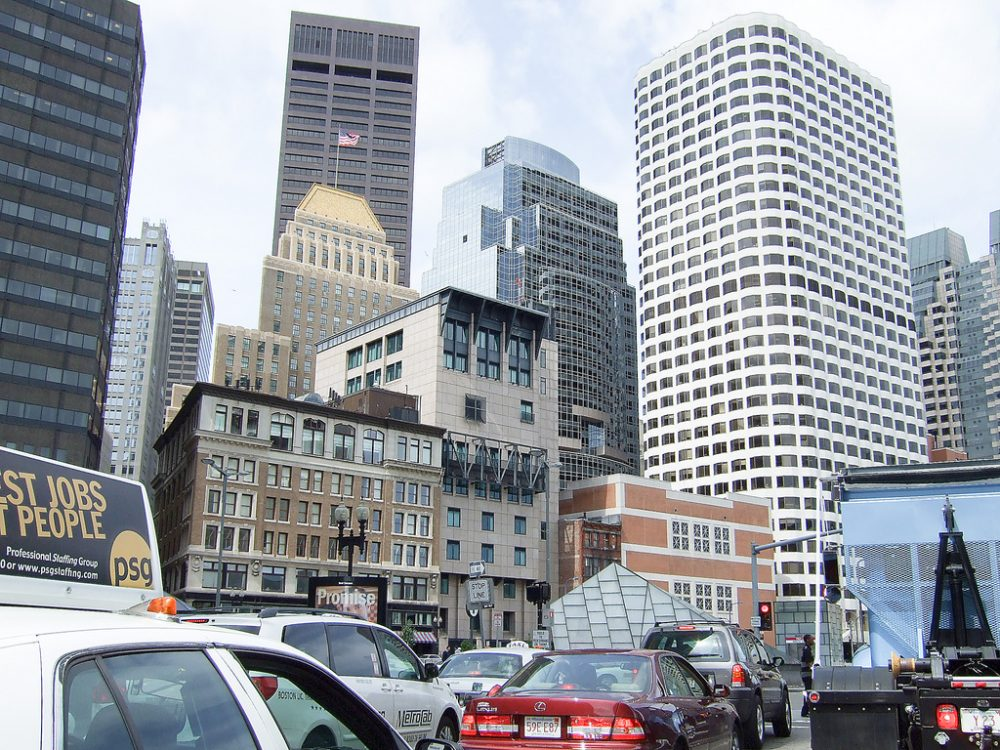 Boston traffic. (Dave L/Flickr)