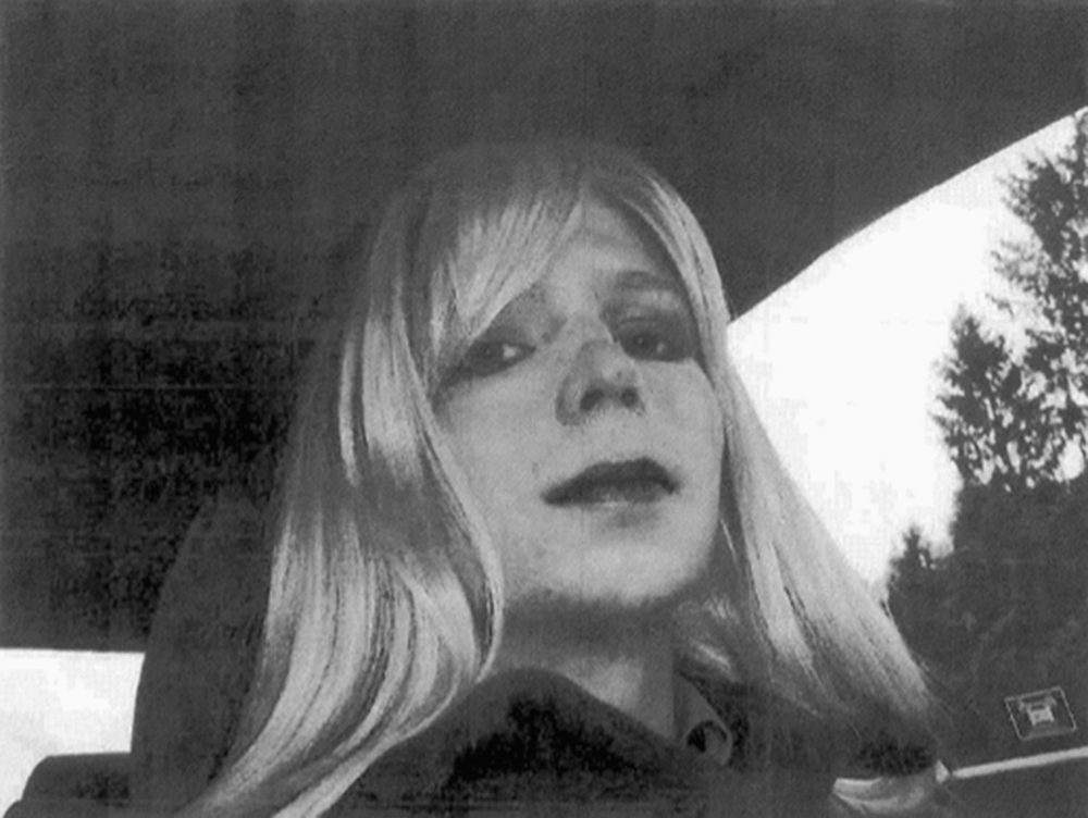 Chelsea Manning is seen in this undated photo provided by the U.S. Army. (U.S. Army via AP, File)