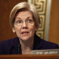 "A new WBUR poll finds only 44 percent of voters think Sen. Elizabeth Warren ""deserves reelection."" Forty-six percent think voters ought to ""give someone else a chance."" (Carolyn Kaster/AP)"