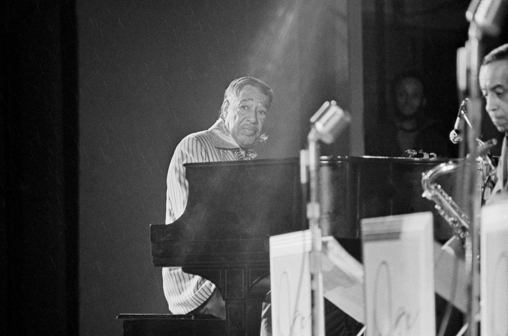 Duke Ellington at a concert in Boston on August 20, 1971. (AP Photo)