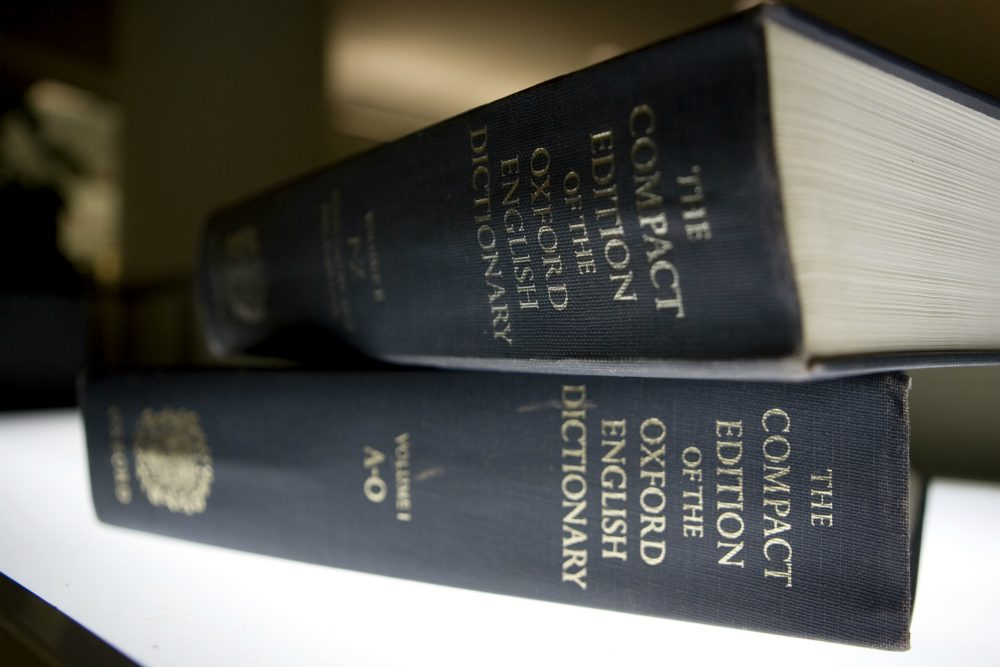 "In its bid for objectivity and fairness, writes Alex Green, NPR seems to be ceding too much ground to a serial dispenser of untruths. Pictured: An Oxford English Dictionary, source of NPR's definition for the word ""lie."" Oxford Dictionaries announced Wednesday, Nov. 16, 2016 that editors have chosen their word of the year: ""post-truth,"" a term sometimes used to describe the current political climate. (Caleb Jones/AP)"