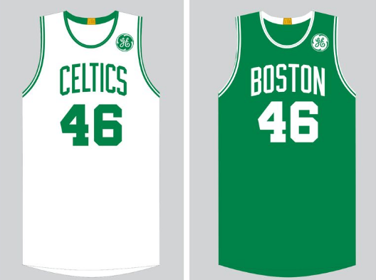 huge selection of cd306 f903e The GE Logo Is Going On Celtics Jerseys | WBUR News