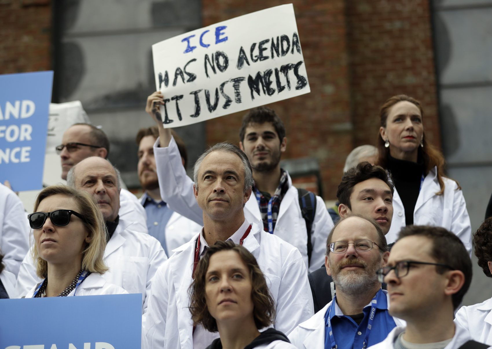 The backlash against Trump's environmental assault will come from the young, writes Miles Howard. And they will win. Pictured: Scientists at a Dec. 13, 2016 rally in San Francisco to call attention to attacks by the incoming Trump administration against climate change. (Marcio Jose Sanchez/AP)