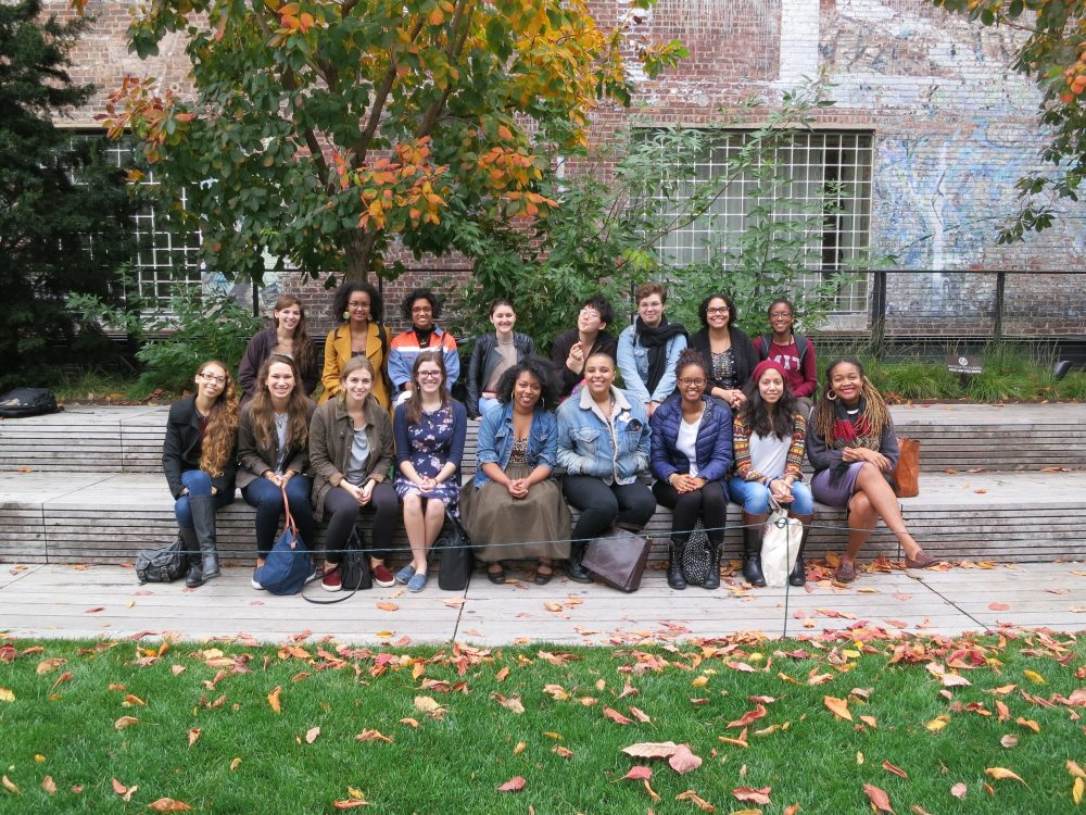 With experiences like a field trip to visit the Metropolitan Museum and its social media manager, Kimberly Drew (at right), students connect art to the larger world and their own lives, writes guest columnist Nikki A. Greene. (Courtesy)