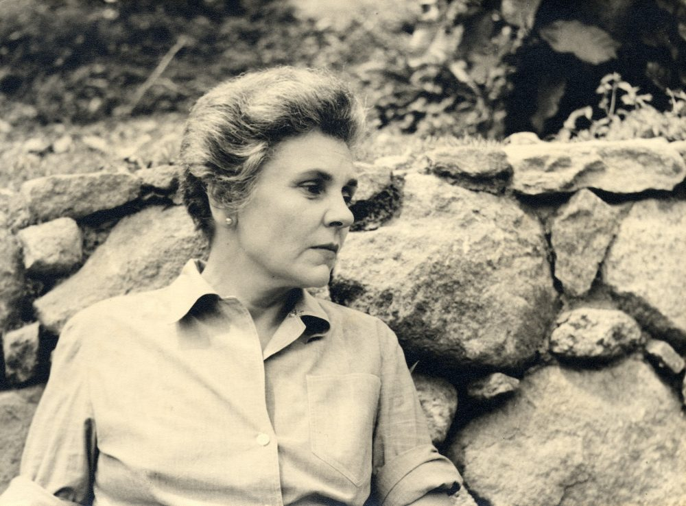Elizabeth Bishop in Brazil in 1955. (Courtesy Houghton Mifflin)