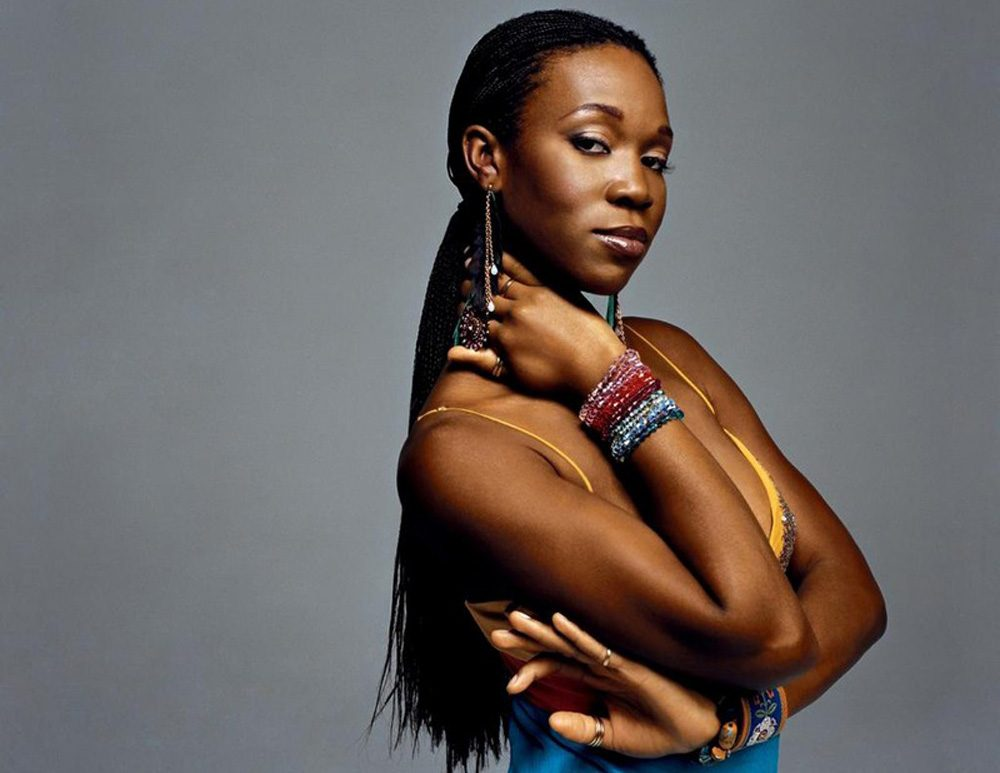 R&B and soul singer-songwriter India.Arie. (Courtesy of the artist)