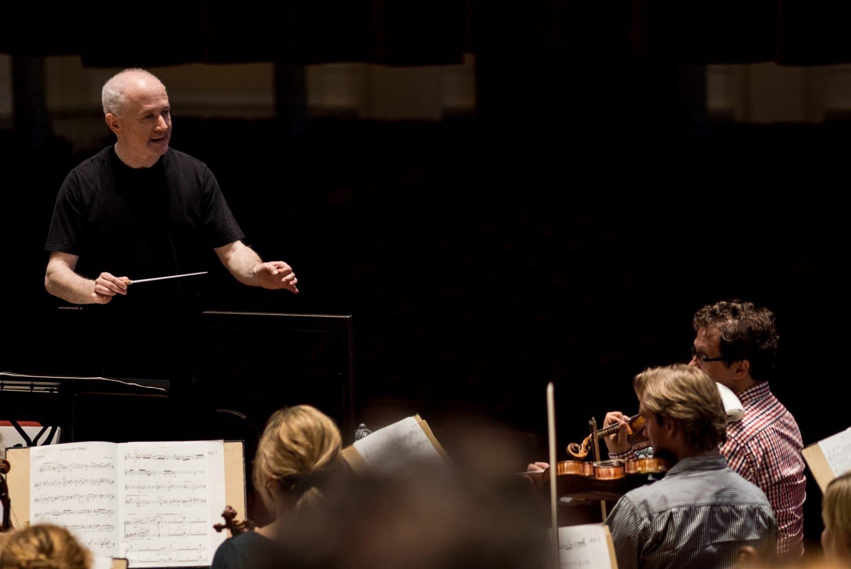 Conductor George Benjamin. (Courtesy Renske Vrolijk/Royal Concertgebouw Orchestra)