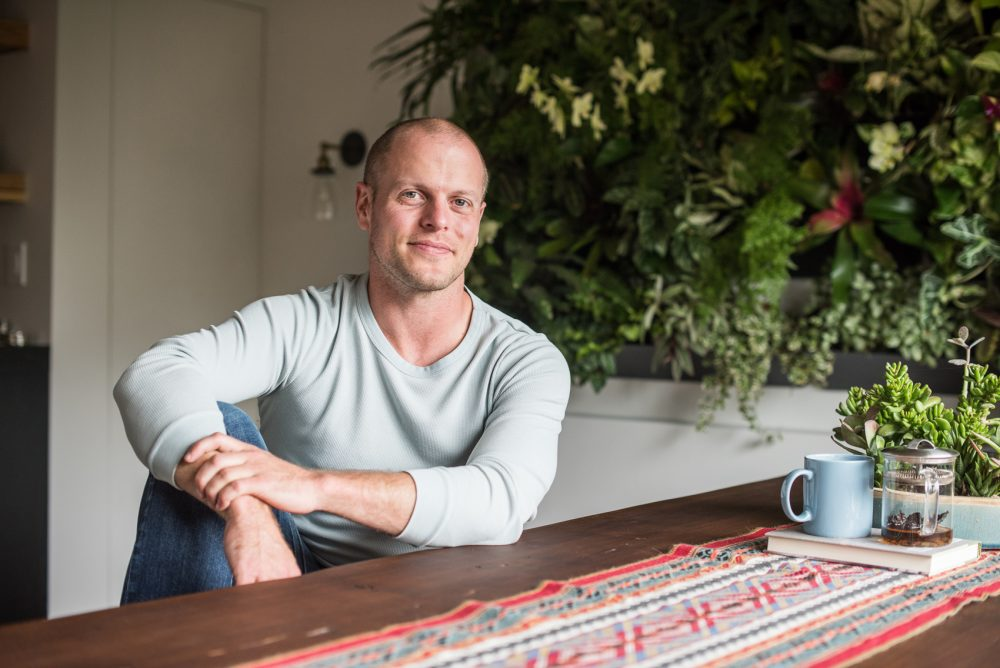 Tech investor, author and podcast host Tim Ferriss. (Courtesy Andrew Kelly)