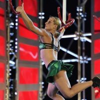 In the first seven seasons of American Ninja Warrior, no woman completed Stage 1 at national finals. Then Jessie Graff came along. (Courtesy of Danielle Lenniger)