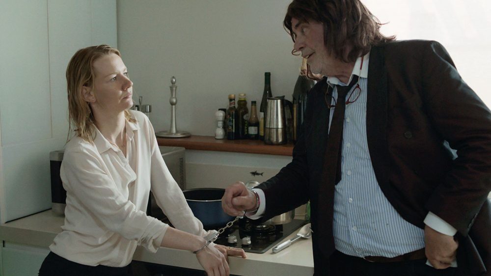 "Peter Simonischek and Sandra Hüller in ""Toni Erdmann."" (Courtesy Sony Pictures Classics)"