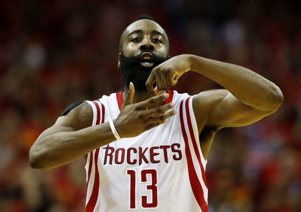 If James Harden wasn't busy starring for the Houston Rockets, might he have a career as a restaurant chef? (Scott Halleran/Getty Images)
