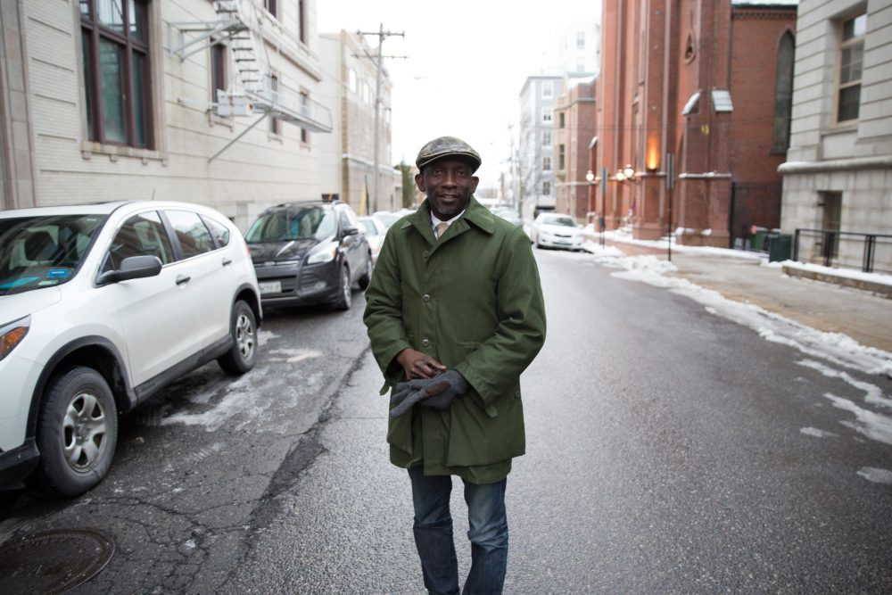 Pious Ali, one of the first African-born Muslims to hold public office in Maine. (Ryan Caron King/NENC)