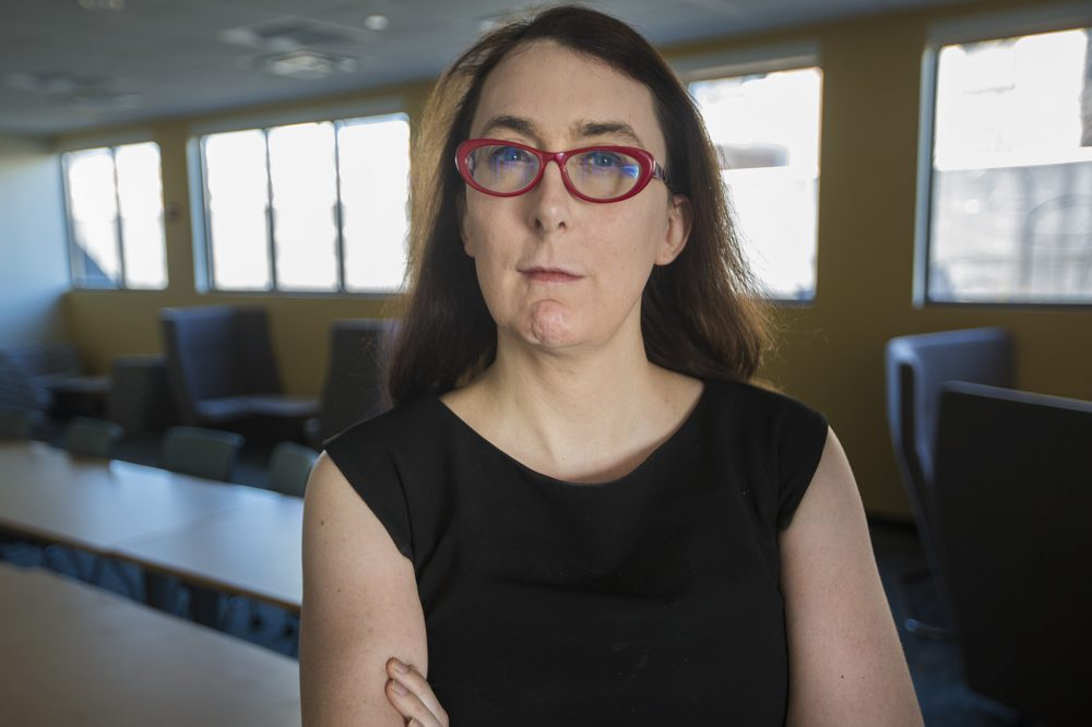 Brianna Wu at WBUR (Jesse Costa/WBUR)