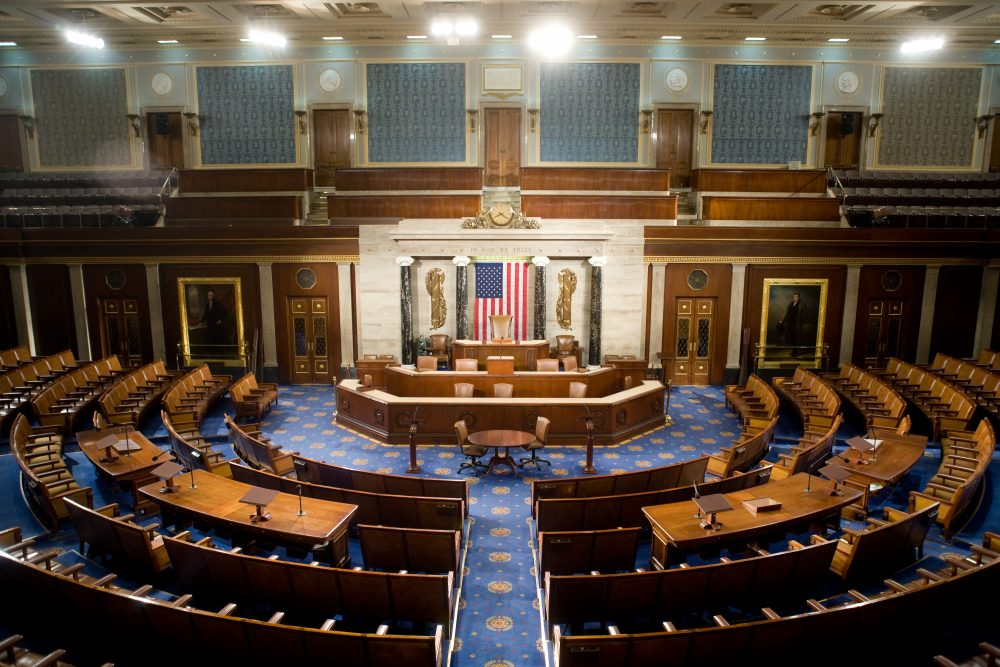 The U.S. House of Representatives chamber is seen Dec. 8, 2008 in Washington. (Brendan Hoffman/Getty Images)