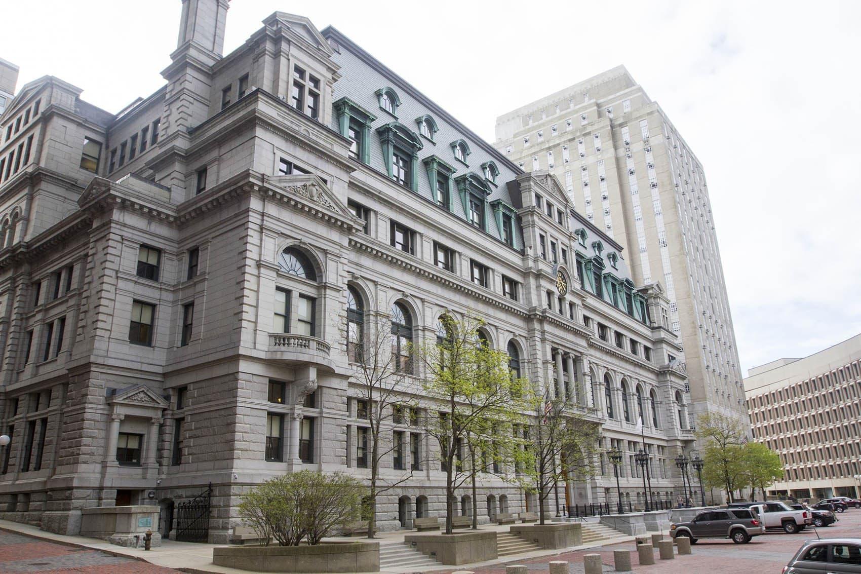 John Adams Courthouse, home of the Massachusetts Supreme Judicial Court. (Joe Difazio for WBUR)