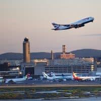Logan International Airport (Jesse Costa/WBUR)