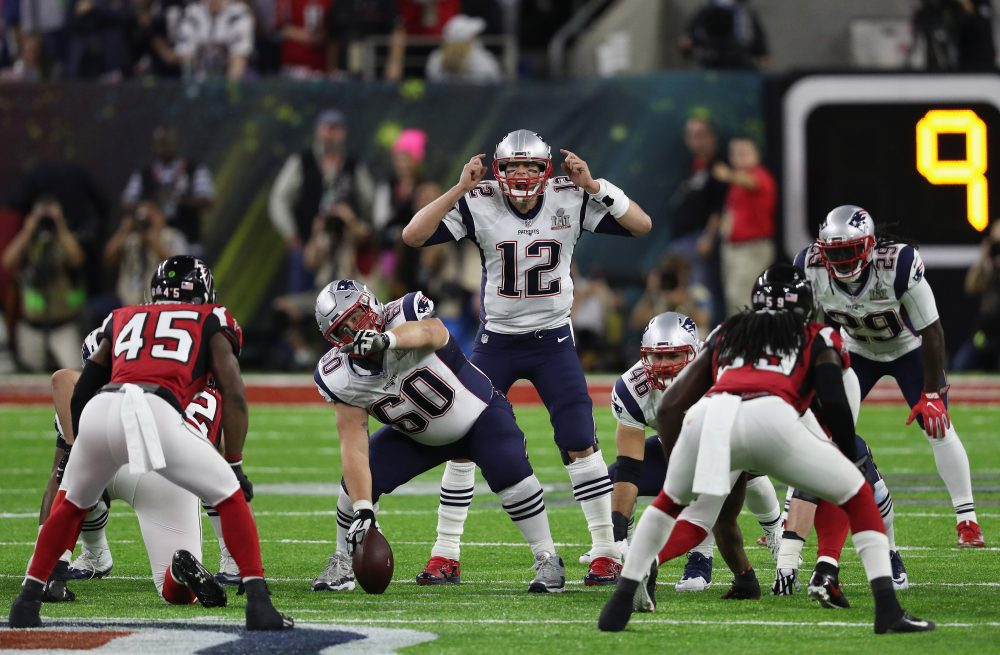 After the Super Bowl ended, Tom Brady's jersey went missing. (Patrick Smith/Getty Images)