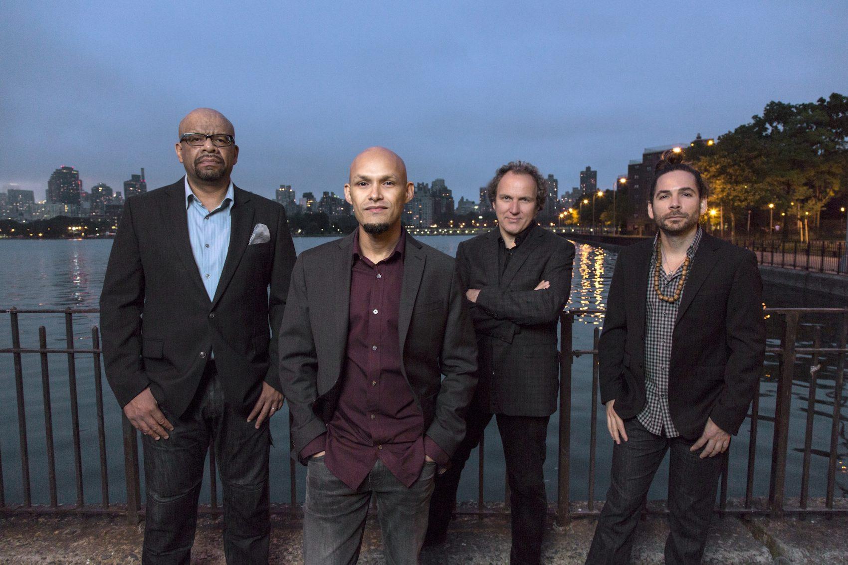 Pianist Luis Perdomo, saxophonist Miguel Zenón, bassist Hans Glawischnig and drummer Henry Cole. (Courtesy Jimmy Katz)