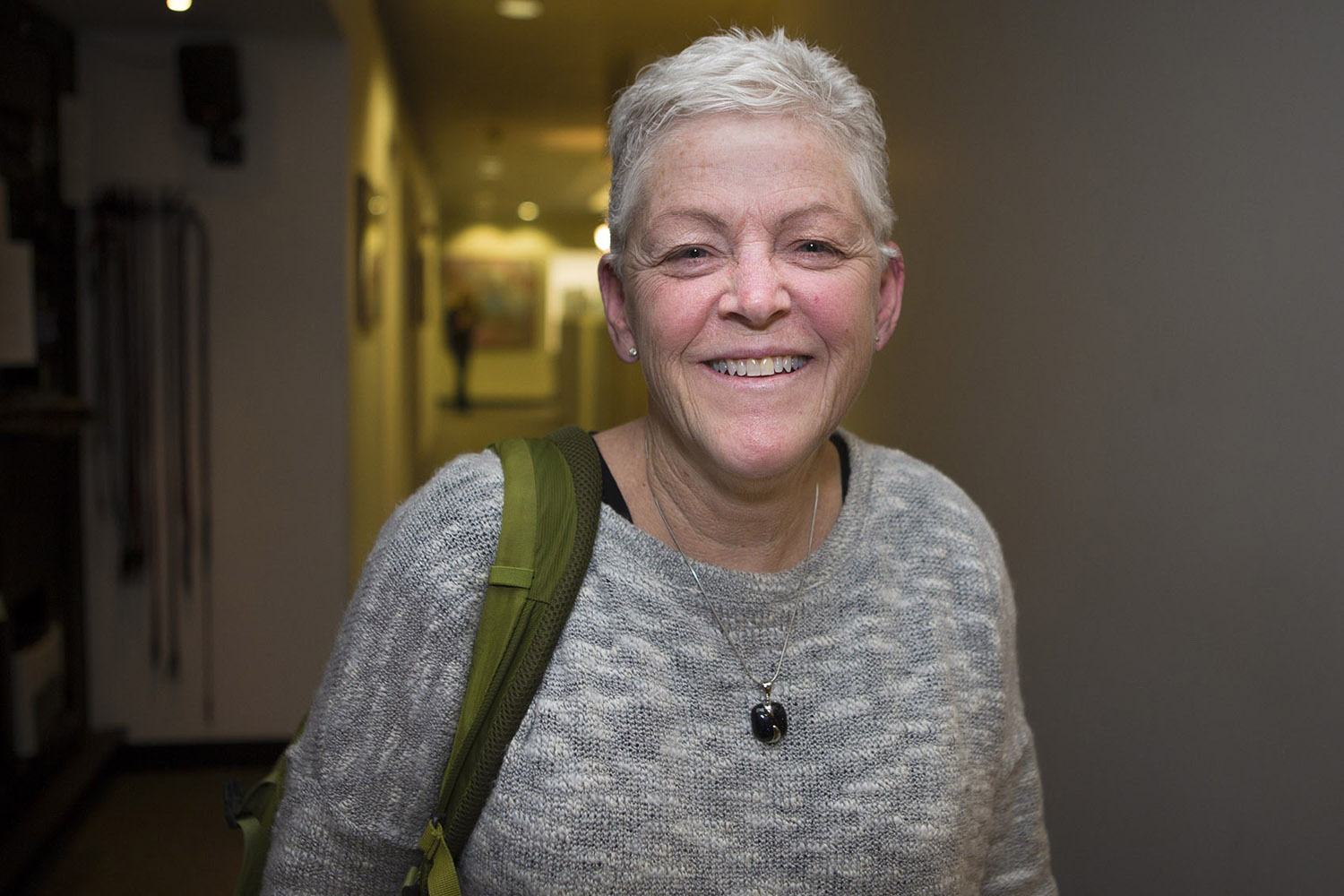 Former Environmental Protection Agency Administrator Gina McCarthy. (Jesse Costa/WBUR)