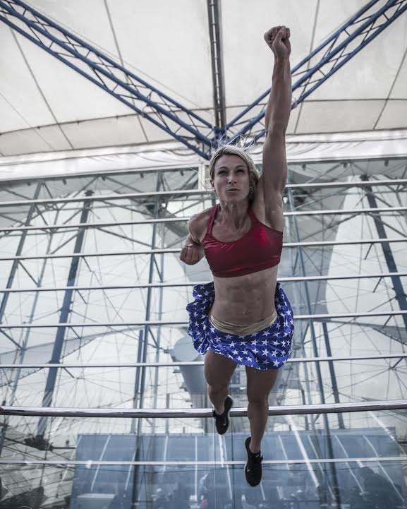 e404edddfd Jessie Graff was the first woman to complete Stage 1 of American Ninja  Warrior. (