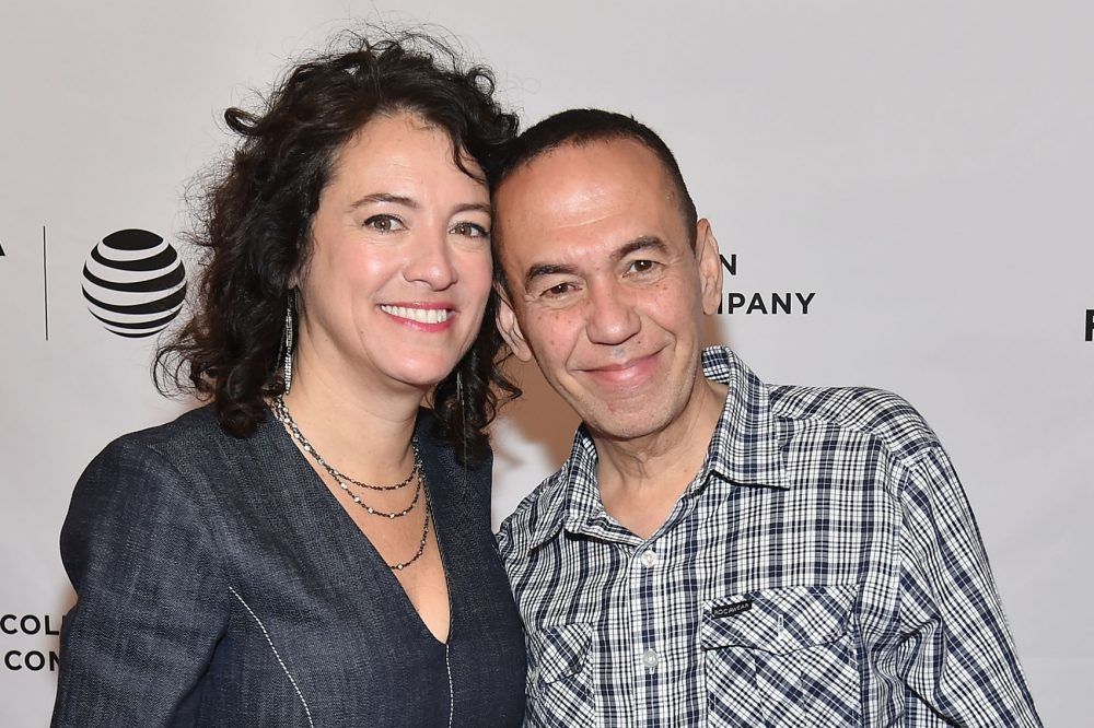 "Director Ferne Pearlstein and Gilbert Gottfried attend the ""The Last Laugh"" premiere during the 2016 Tribeca Film Festival in April 2016 in New York. (Ben Gabbe/Getty Images for Tribeca Film Festival)"