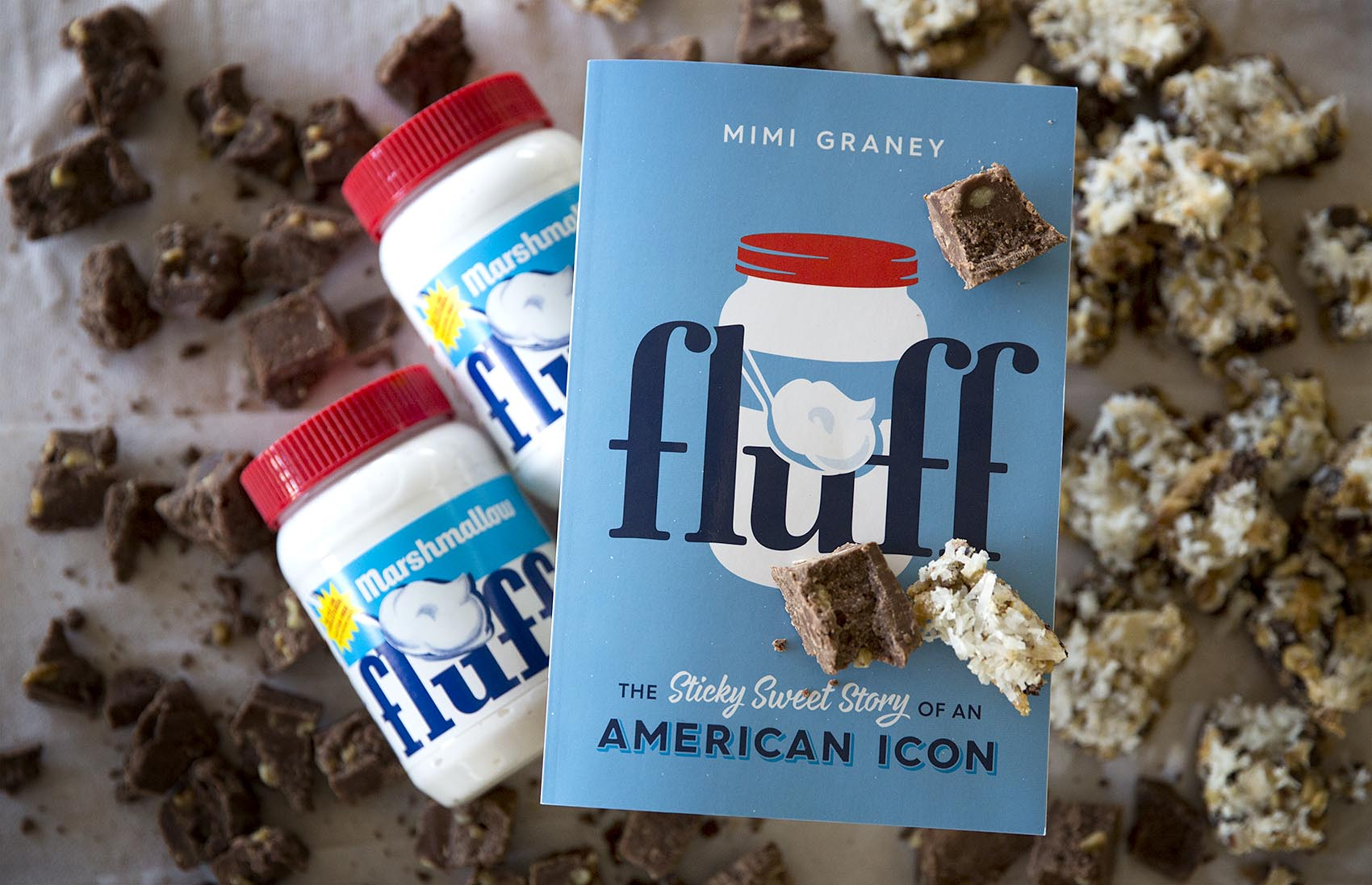 Sticky, sweet Marshmallow Fluff (Robin Lubbock/WBUR)