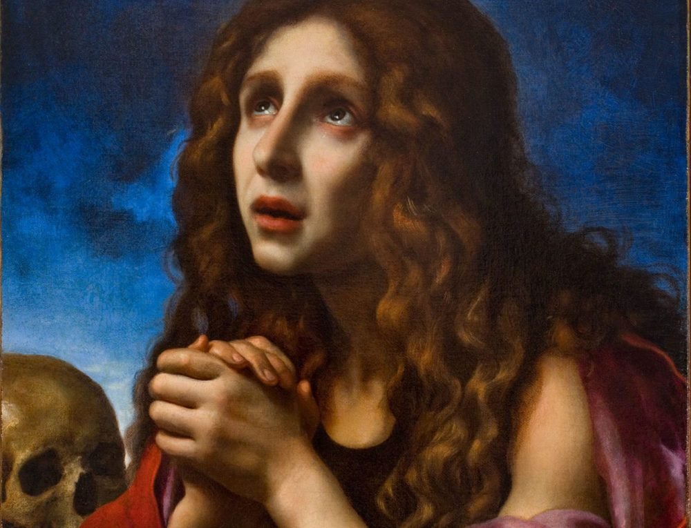 """Carlo Dolci's """"The Penitent Magdalene,"""" ca. 1670. (Courtesy of the Davis Museum at Wellesley College)"""
