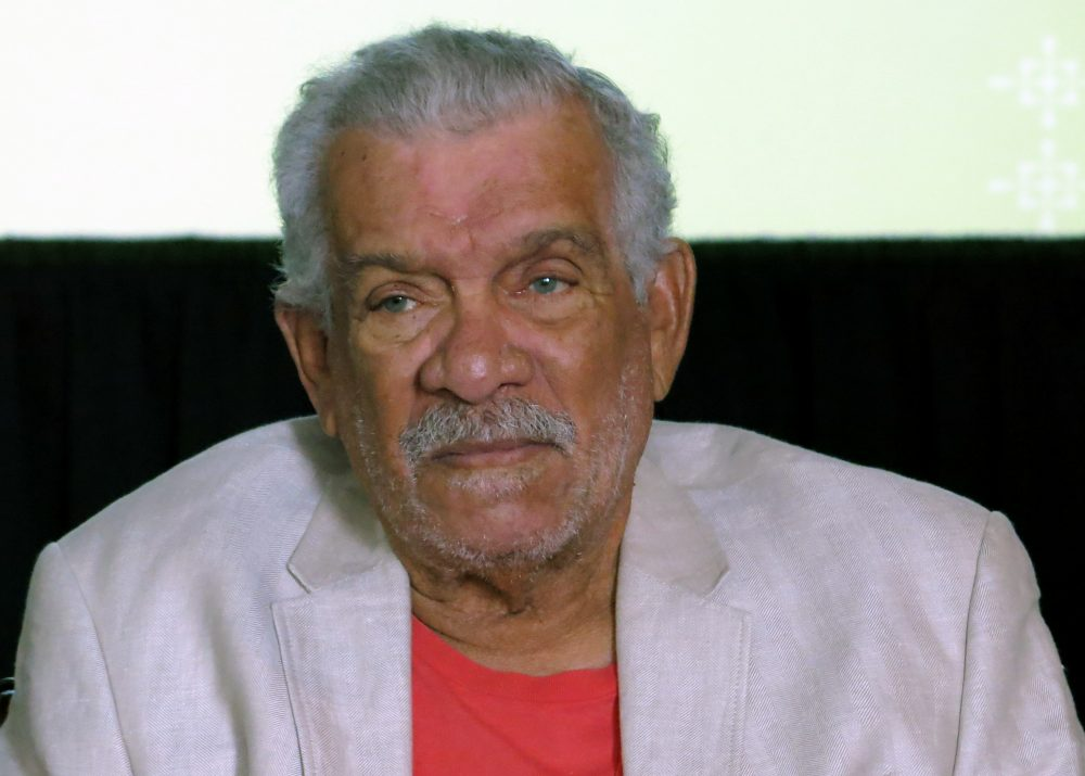 Derek Walcott was known for capturing the essence of his native Caribbean and became the region's most internationally famous writer. (Berenice Bautista/AP File)